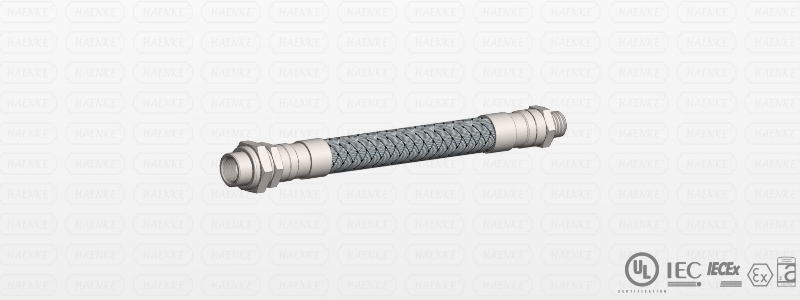 Flexible metallic conduit for Explosive Atmosphere (EX) - Inox