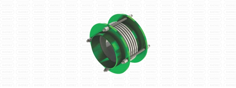 Axial Metal Expansion Joint and Vibration Damper